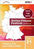 DTB Online-Fitness-Festival am 21. Mai