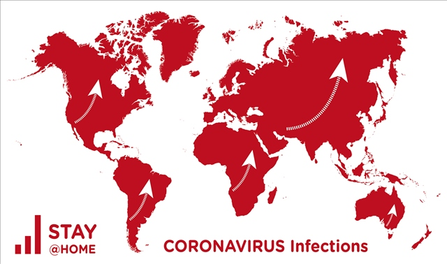 Coronavirus: please StayAtHome!
